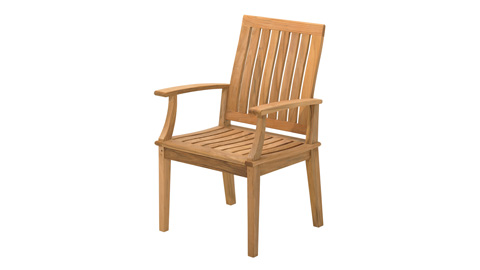 Image of Ventura Dining Chair with Arms