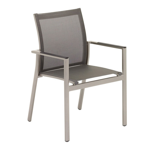 Image of Azore Stacking Chair with Arms