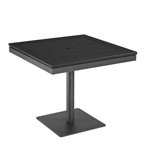 Image of Azore Square Pedestal Dining Table