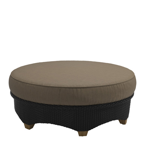 Gloster - Plantation Sectional Round Ottoman - 590