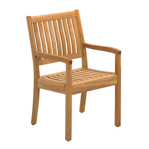 Gloster - Kingston Dining Chair with Arms - 811