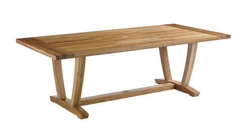 Gloster - Oyster Reef Rectangular Dining Table - 8630