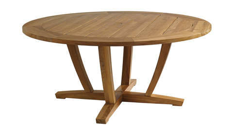 Gloster - Oyster Reef Round Dining Table - 8631