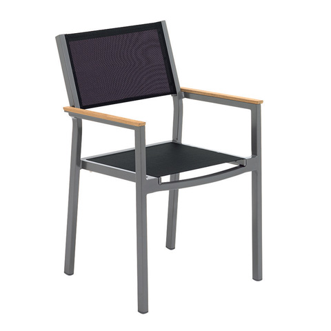 Gloster - Luna Stacking Chair with Arms - 982
