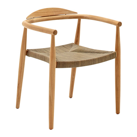Gloster - Dansk Stacking Chair with Arms - 6401
