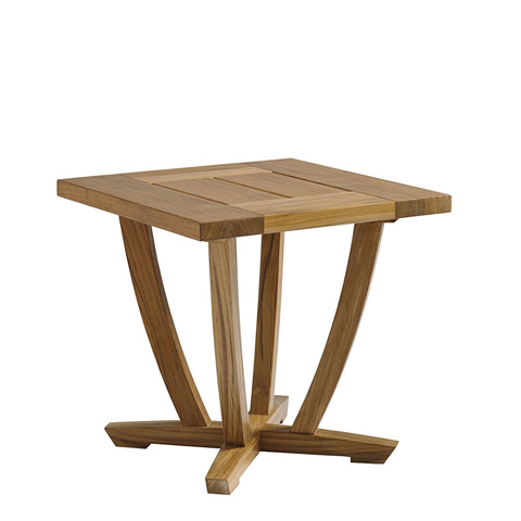 Gloster - Oyster Reef Square End Table - 8683