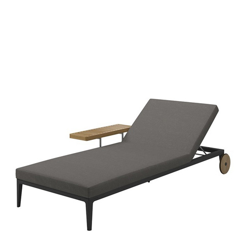 Gloster - Grid Chaise Lounger - 7131