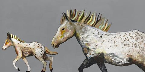 Image of Speckled Pony Ride Artwork