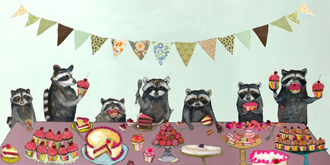 Image of Cupcake Party Artwork