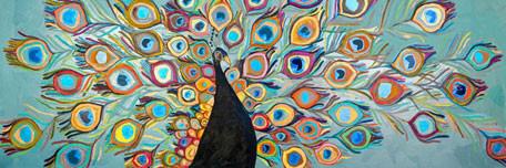 Image of Peacock Wall Art