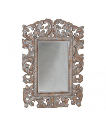 Image of Large Baroque Acanthus Mirror