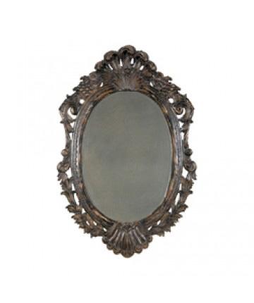 Guildmaster - Oval Carved Mirror - 108005