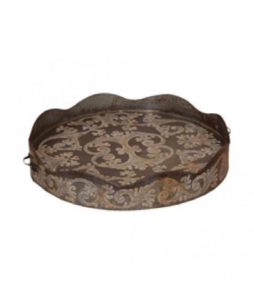 Guildmaster - Round Scalloped Tin Tray - 283501