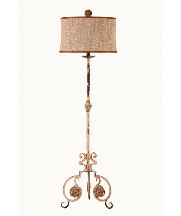 Guildmaster - Scroll Leg Floor Lamp - 359307