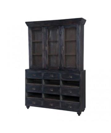 Guildmaster - European Farmhouse Display Cabinet - 604001