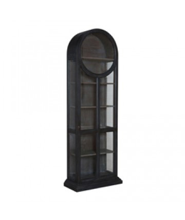 Image of Round Top Display Cabinet