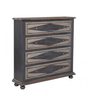 Guildmaster - Somerset Four Drawer Chest - 643208