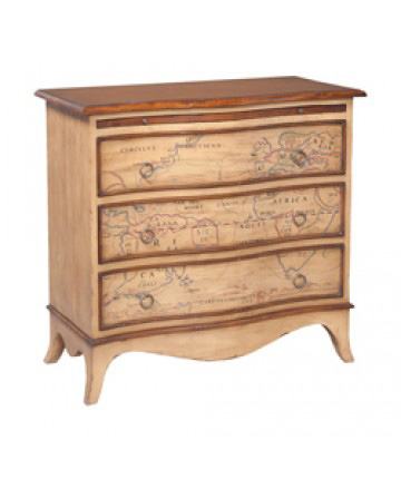 Guildmaster - Heritage Three Drawer Chest - 643544
