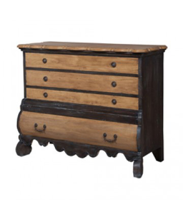 Guildmaster - Four Drawer Dresser - 644019