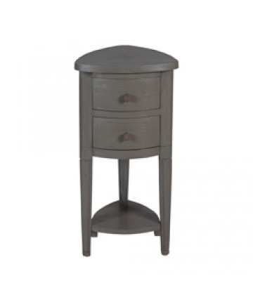 Guildmaster - Corner Accent Table With Drawer - 644020
