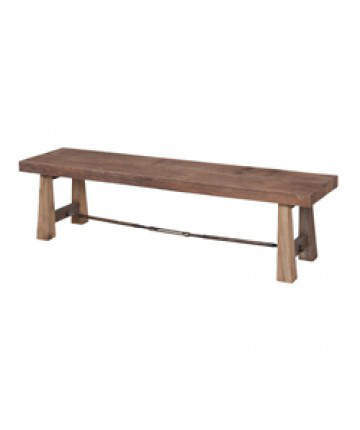 Guildmaster - Reclaimed Wood Bench - 654001-B