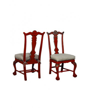 Guildmaster - Pair of Chippendale Chairs - 692503P