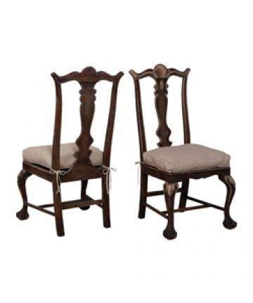 Guildmaster - Pair of Chippendale Chairs - 692506P
