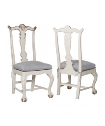 Guildmaster - Pair of Chippendale Chairs - 693007P