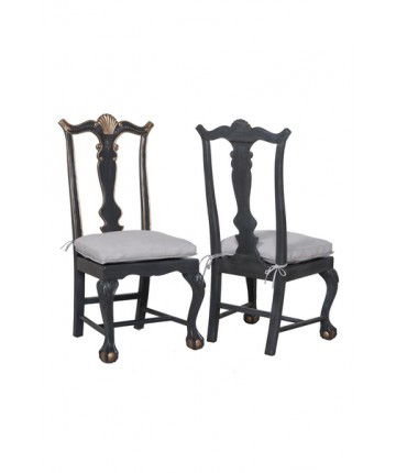 Guildmaster - Pair of Chippendale Chairs - 693007P-1