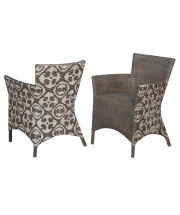 Guildmaster - Pair of Rattan Peel Chair - 693503P