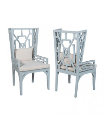 Guildmaster - Pair of Manor Wing Chair - 694010P