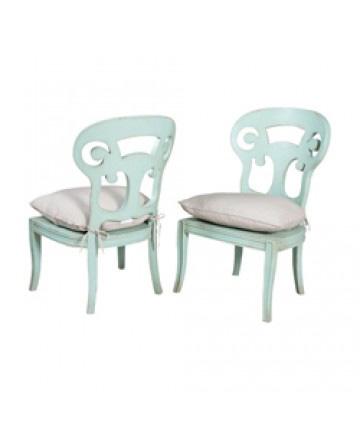 Guildmaster - Pair of Verona Side Chair - 694014P