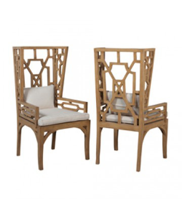 Guildmaster - Pair of Manor Wing Chair - 694501P