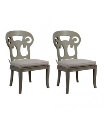 Guildmaster - Pair of Verona Club Side Chair - 694515P