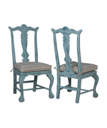 Guildmaster - Pair of Chippendale Chairs - 694518P