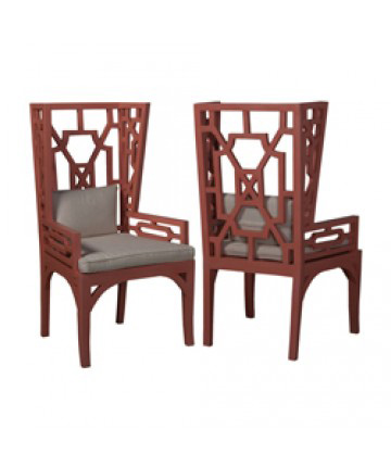 Guildmaster - Pair of Manor Wing Chair - 694519P