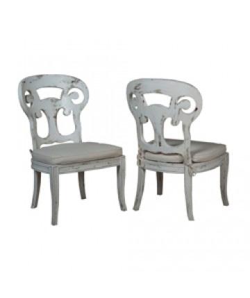 Guildmaster - Pair of Verona Club Side Chair - 694527P