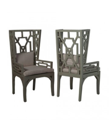 Guildmaster - Pair of Manor Wing Chair - 694537P