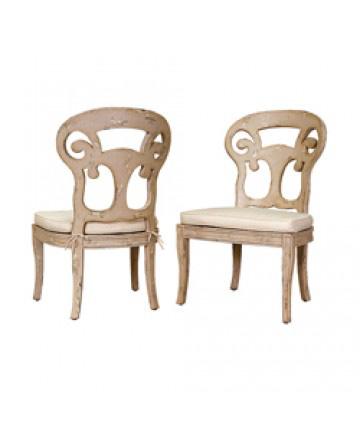 Guildmaster - Pair of Verona Club Side Chair - 697512P