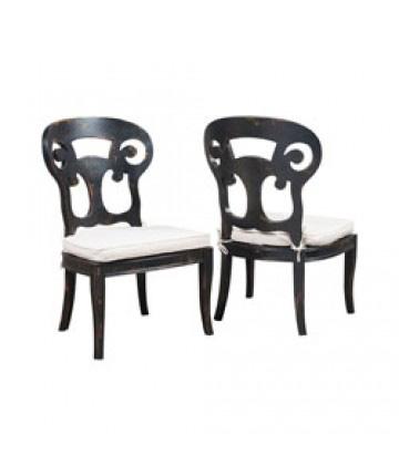 Guildmaster - Pair of Verona Club Side Chair - 698000P