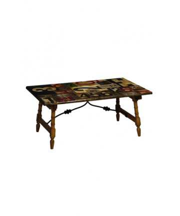 Guildmaster - Bamboo Accent Coffee Table - 712562