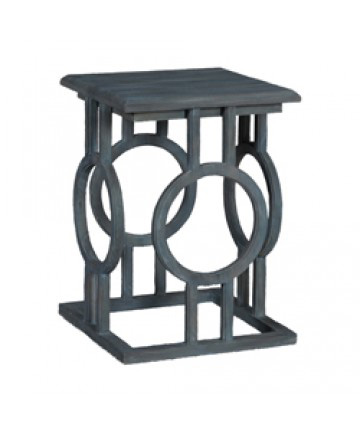 Guildmaster - Circle Cutout Accent Table - 714518