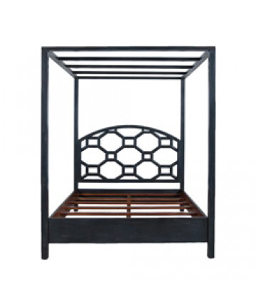 Guildmaster - Manse Four Poster Queen Bed - 953003Q