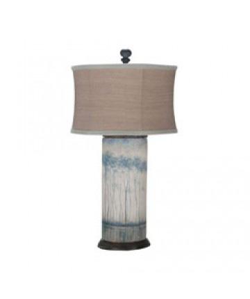Guildmaster - Terra Cotta Cylinder Lamp - 355039