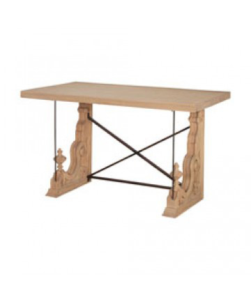 Image of Carved Corbel Hall Table