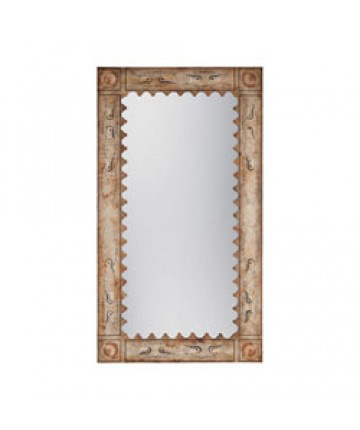 Guildmaster - Painted Tin Floor Mirror - 105021