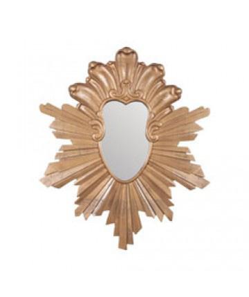 Guildmaster - Grain De Bois Starburst Mirror - 105024
