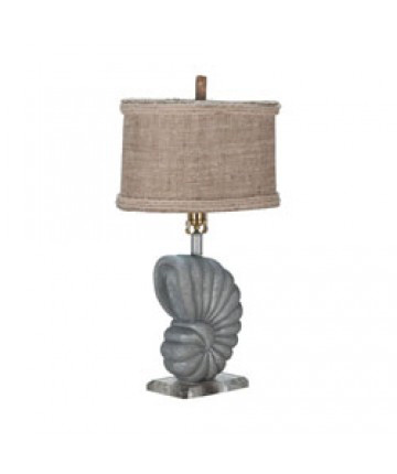 Guildmaster - Stone Nautilus Lamp - 355010