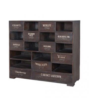 Guildmaster - Farmhouse Wine Cabinet - 605016HGS