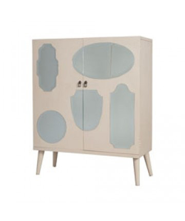 Guildmaster - Vintage Mirrored Cabinet - 645094MW